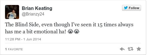 Tweet by @Brian Keating