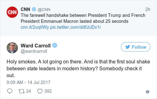 Tweet by @Ward Carroll