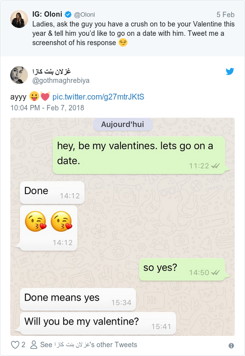 What Does Asking Someone To Be Your Valentine Mean