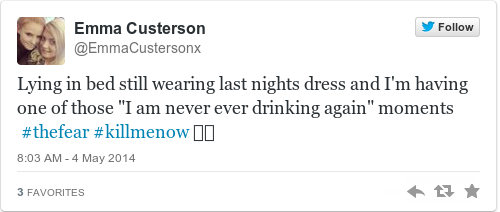 Tweet by @Emma Custerson
