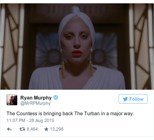 Tweet by @Ryan Murphy