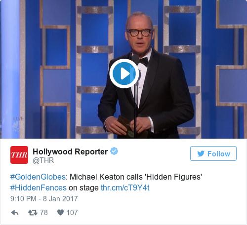 Tweet by @Hollywood Reporter