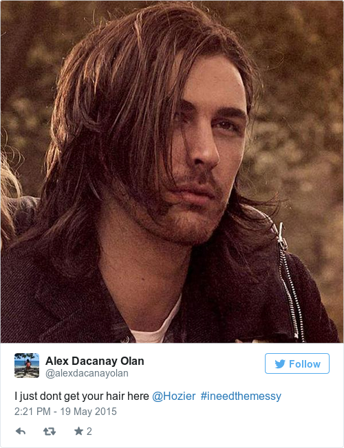 Hozier Finally Straightened His Hair For Vogue And The