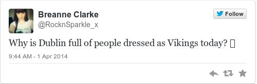 Tweet by @Breanne Clarke