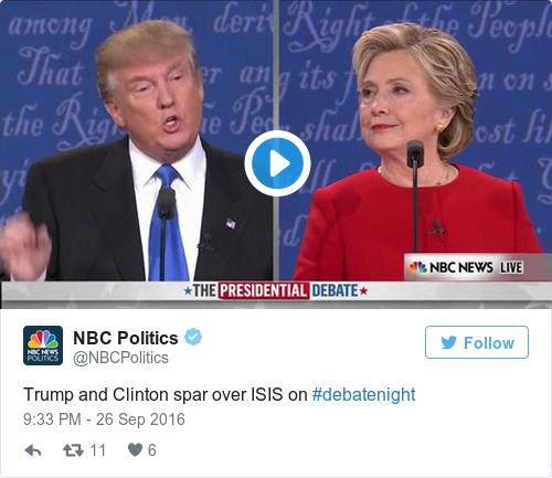Tweet by @NBC Politics
