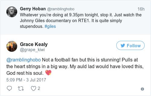 Tweet by @Grace Kealy