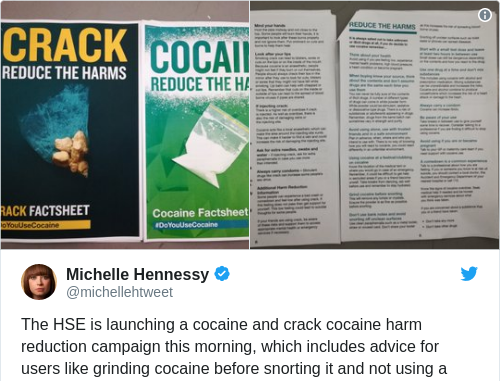 Hse Launches New Advice Campaign As Cocaine Use Returns To Celtic