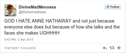 Tweet by @DivineMadMenness