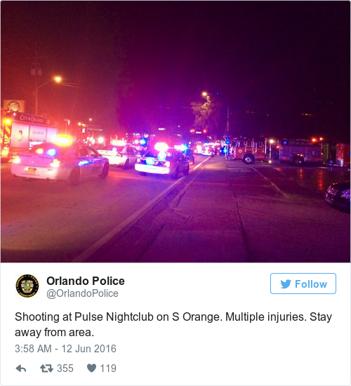 Florida Gay Nightclub Worst Mass Shooting In US History