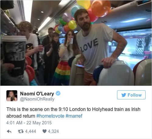 Tweet by @Naomi O'Leary