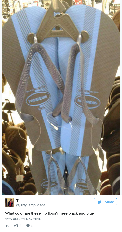What color are these flip flops? I see black and blue h40ApPysJS