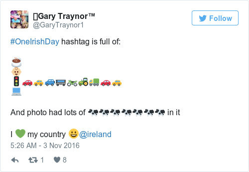 Tweet by @⚽️Gary Traynor™