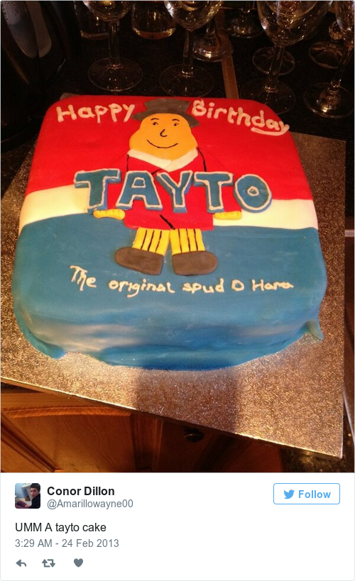 11 Of The Most Irish Birthday Cakes Ever Made The Daily Edge