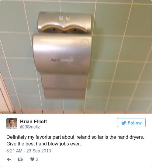Tweet by @Brian Elliott