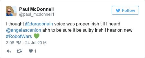 Tweet by @Paul McDonnell