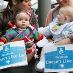 Friends Of Breastfeeding protest