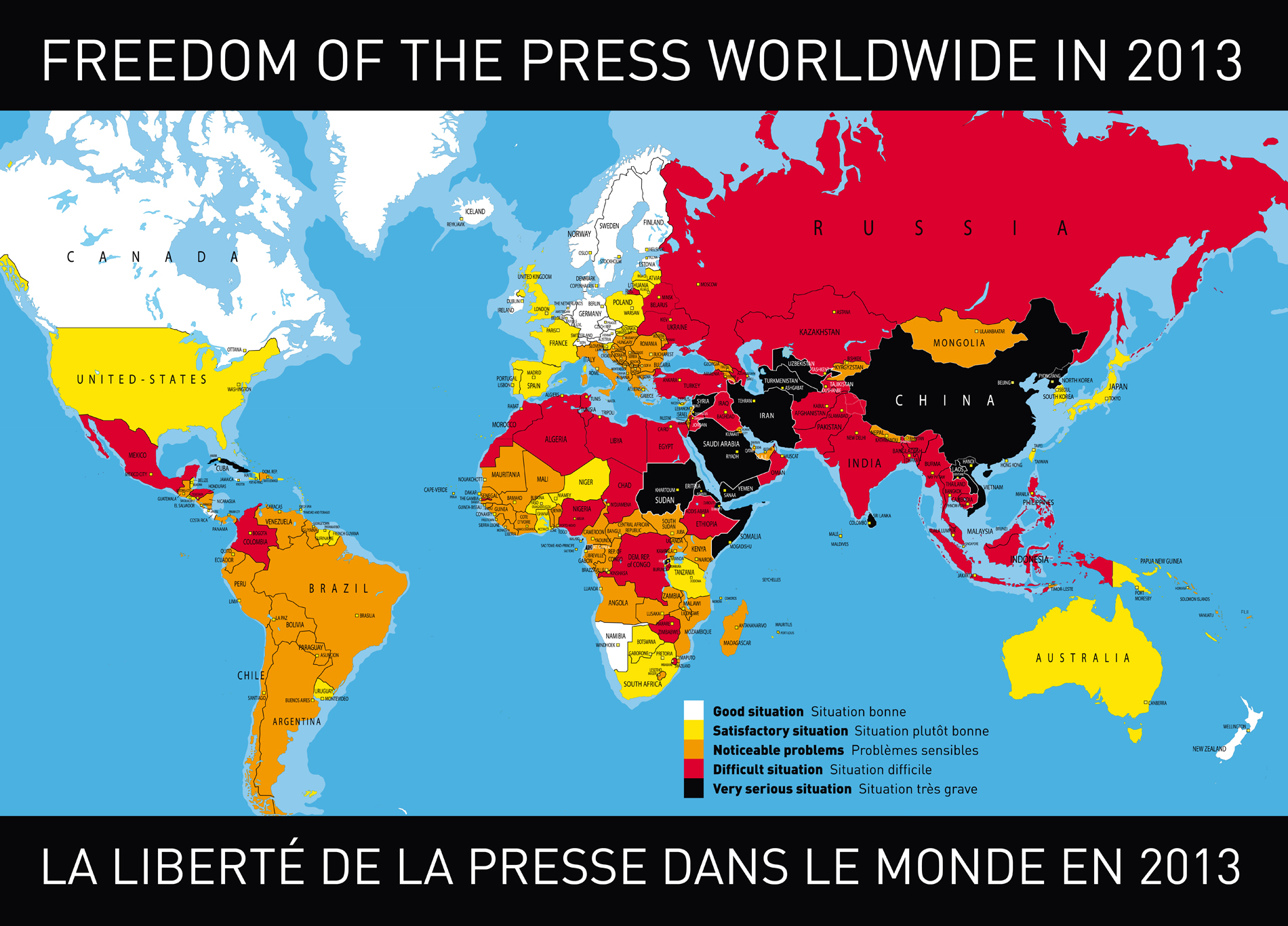 Ireland ranks 15th on latest global press freedom index thejournal click here to open this map gumiabroncs Images