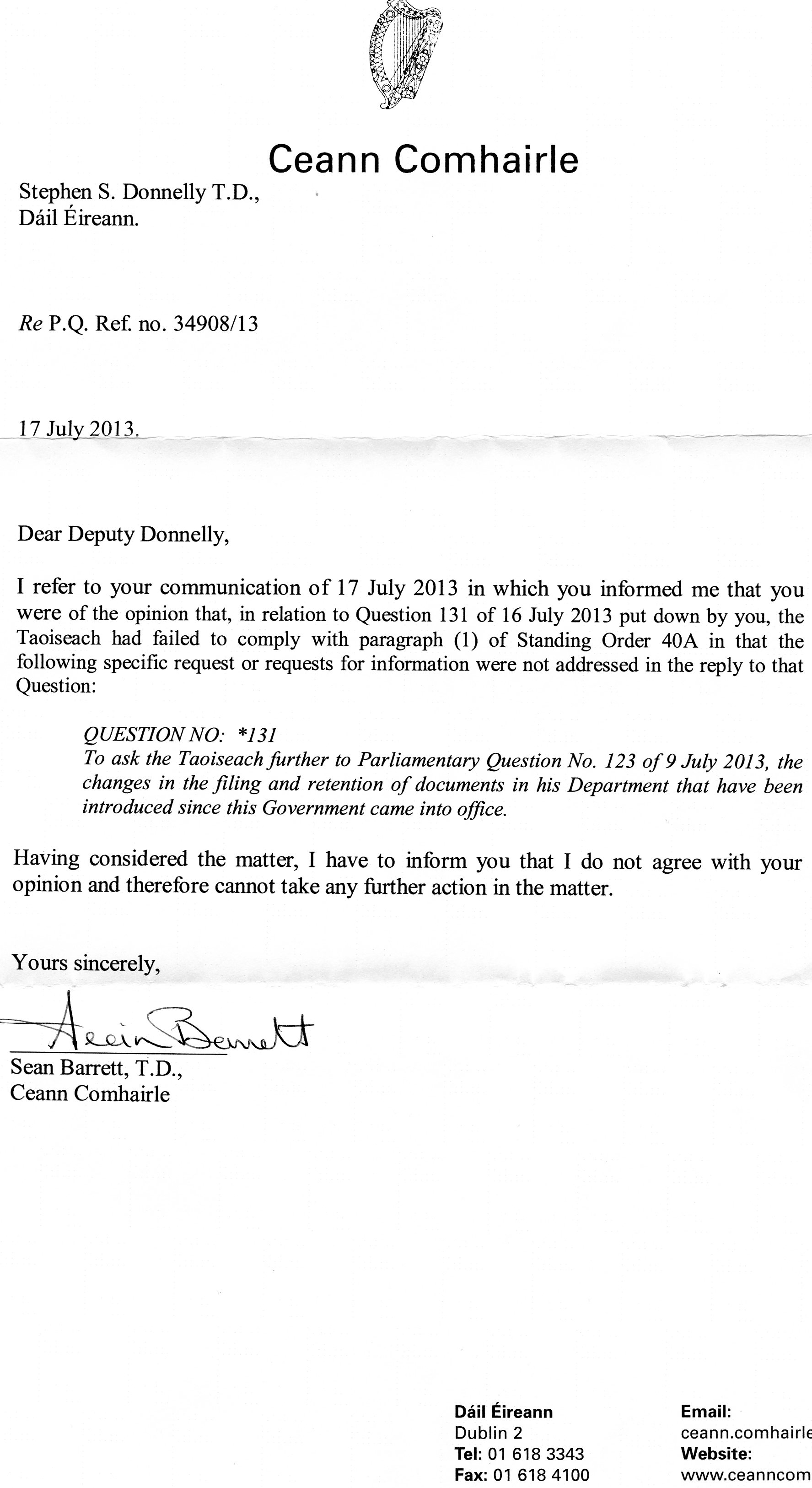 Dissertation Extension Letter