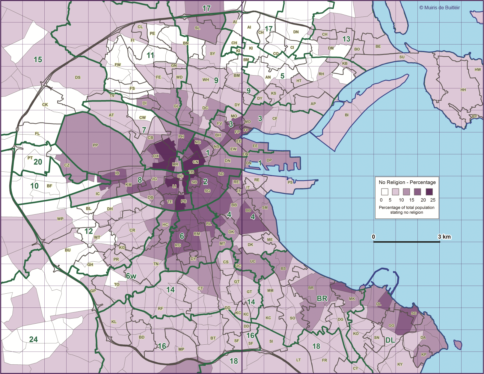 5 maps of Dublin that will give you a new perspective The Daily Edge
