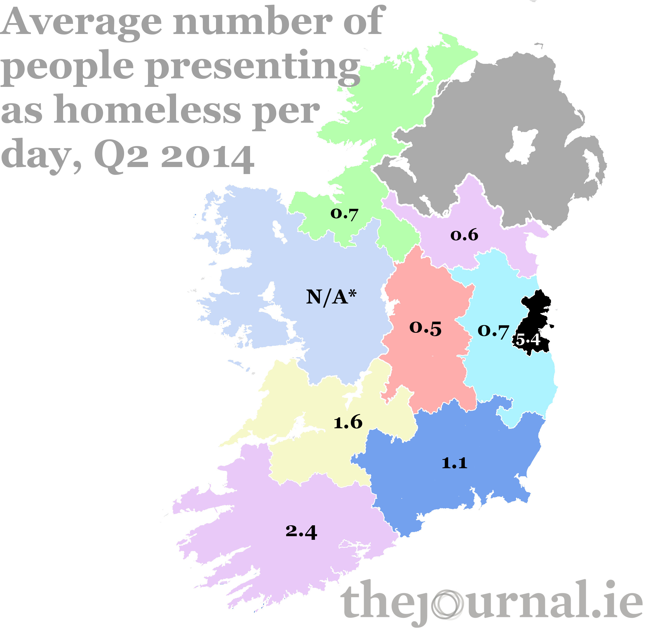 what age, where, and how many: the data on homelessness in ireland