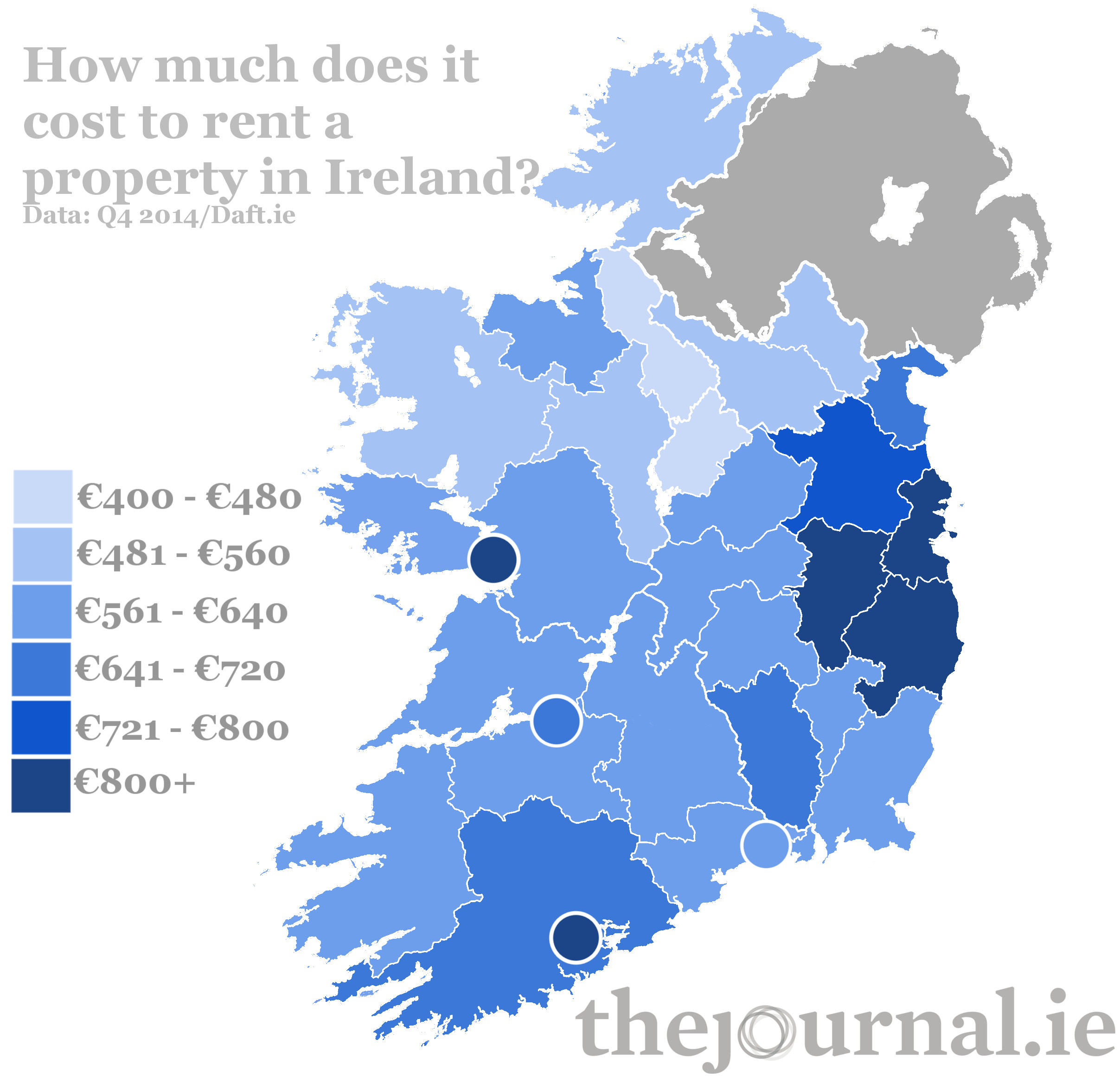 Here Is What It Costs To Rent A Property In Ireland Thejournal Ie