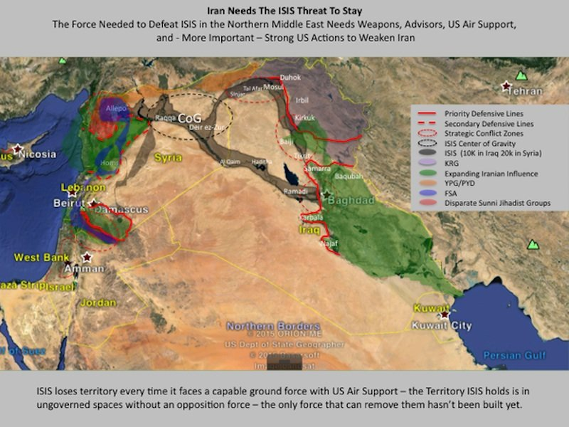 This Map Proves That Iran Doesn T Really Want To Defeat Isis In Iraq
