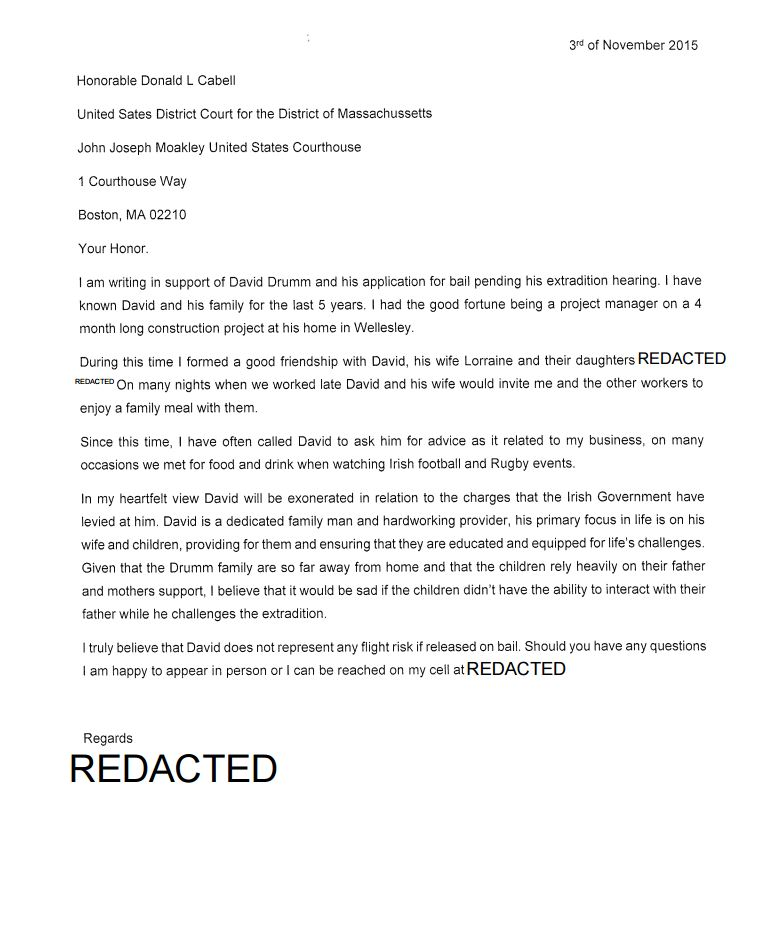 letter to a judge professional letter format to a judge letter to