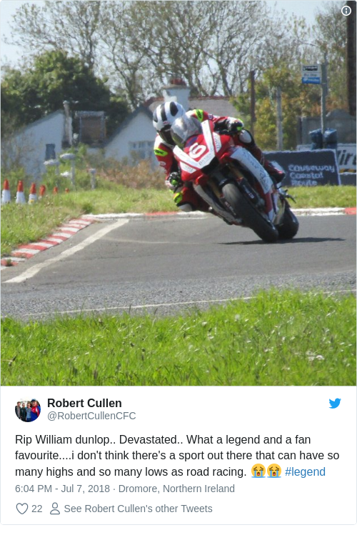 Tweet by @Robert Cullen