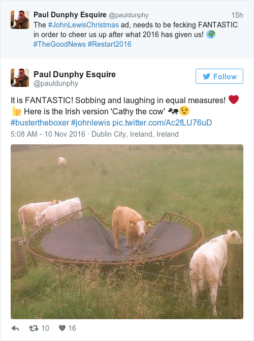 Tweet by @Paul Dunphy Esquire