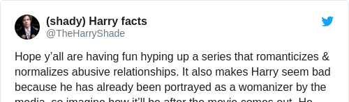 Tweet by @(shady) Harry facts