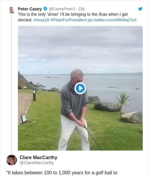 Tweet by @Clare MacCarthy