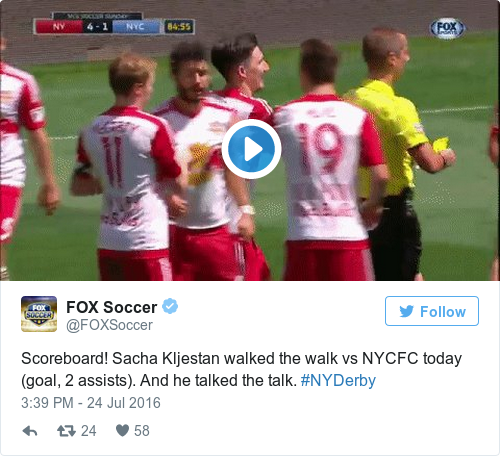 Tweet by @FOX Soccer