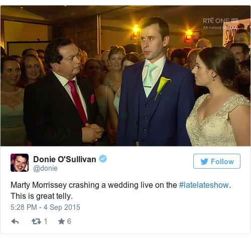 Tweet by @Donie O'Sullivan
