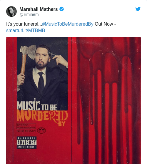 Tweet by @Marshall Mathers