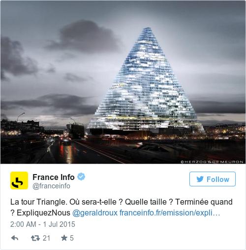 Tweet by @France Info