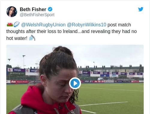 Tweet by @Beth Fisher