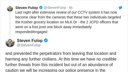 Tweet by @Steven Fulop