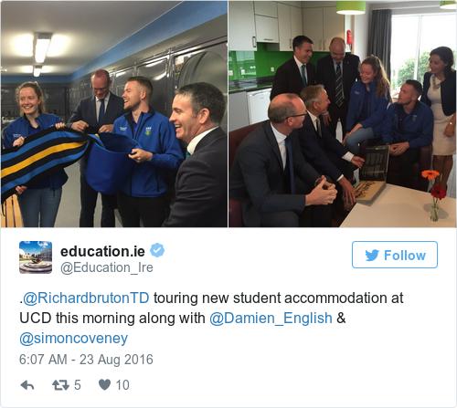 Tweet by @education.ie