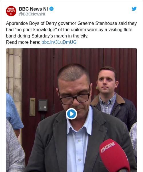 Tweet by @BBC News NI