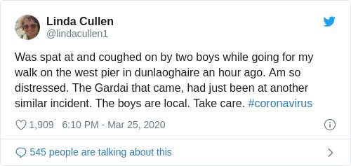 Tweet by @Linda Cullen