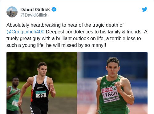 Tweet by @David Gillick
