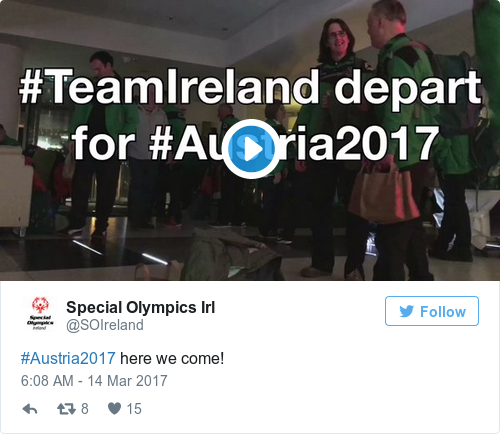Tweet by @Special Olympics Irl