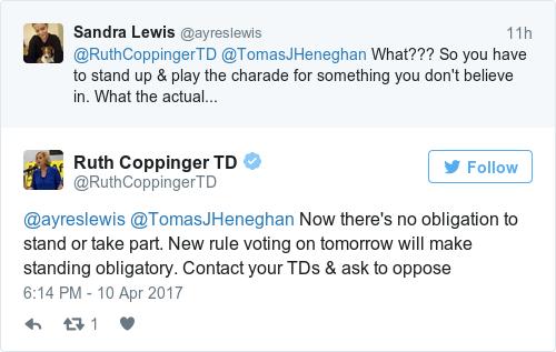 47fc07da84c82e4c13e33e56cfb051ac - 'Ridiculous': TD slams plan to make politicians stand up for Dáil prayer