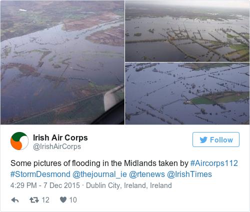 Tweet by @Irish Air Corps