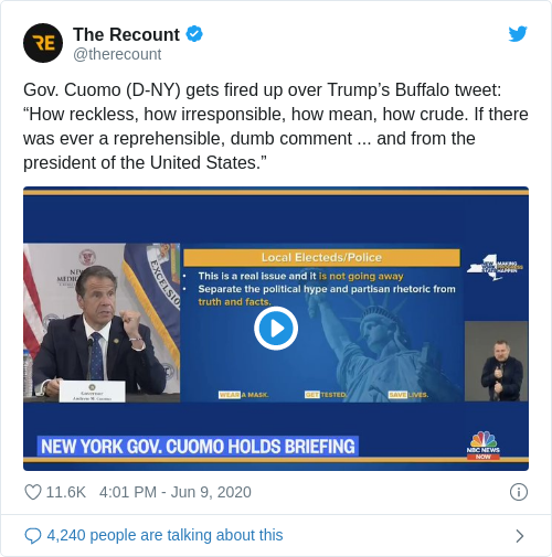 Tweet by @The Recount