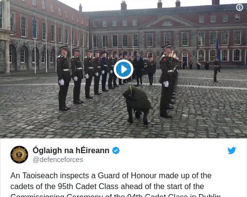Tweet by @Óglaigh na hÉireann