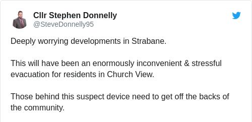 Tweet by @Cllr Stephen Donnelly