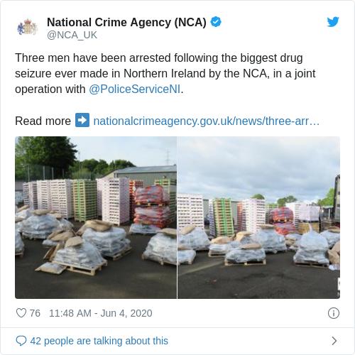 Tweet by @National Crime Agency (NCA)