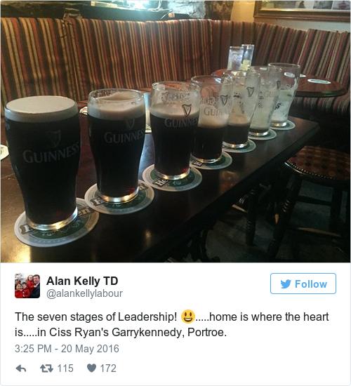 Tweet by @Alan Kelly TD