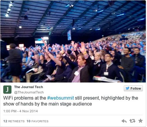 Tweet by @The Journal Tech